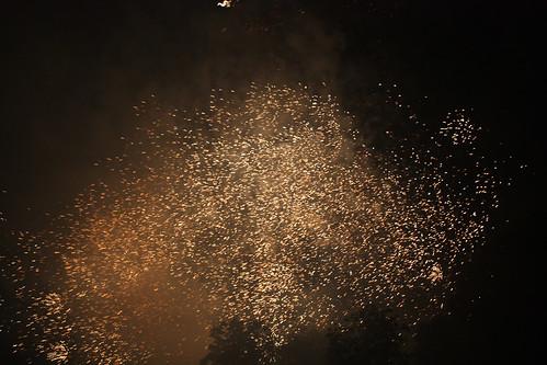 Vuurwerk in het stadspark