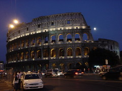 Colosseo (SaudiSoul) Tags: old light italy moon rome roma night italia colosseo