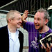 Louis Walsh & Donal Scanlon @ Electric Picnic 2008