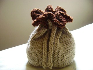 Ravelry: Drawstring Bag pattern by Janet D. Russell
