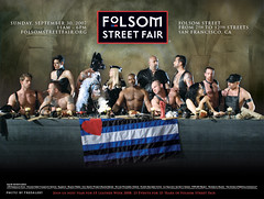 The somewhat controversial Folsom Street Fair Poster, 2007