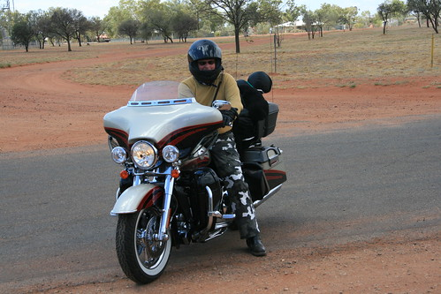 Seen on the track  bikers from NSW