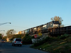 Southbound Norfolk Southern transfer train. Chicago Illinois. October 2006.