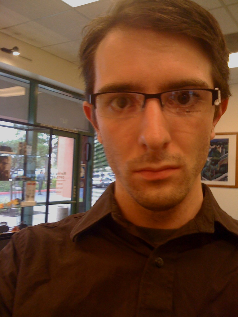 New Glasses Spy Shot