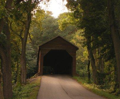 Covered Bridge outside of Cedar Creek, VA