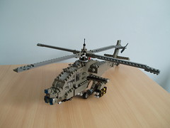 AH-64 Apache (2) (Mad physicist) Tags: army apache lego military helicopter 136 usarmy ah64