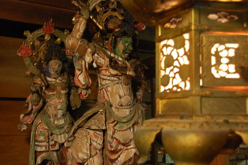 Interior del Monju-Rou