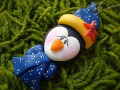 Enfeite de Árvore - Pingüim