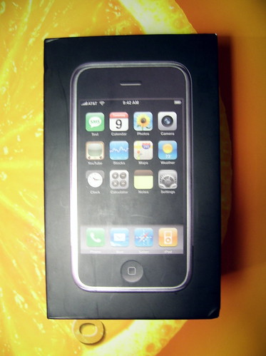 My first iPhone