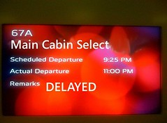 Virgin America Main Cabin Select Delayed