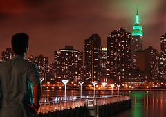 Eid Mubarak (Lazyousuf) Tags: nyc newyorkcity longexposure skyline manhattan empirestatebuilding eidmubarak explore33