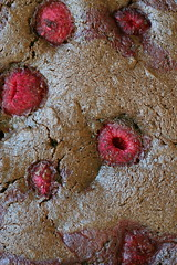 Whole Wheat Chocolate Rasp Cake close 1