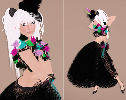"""Stitch By Stitch """"Miss Vixie"""" outfit by you."""