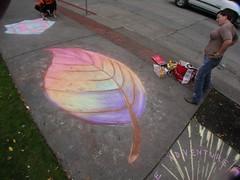 Dawn's  Fall Leaf