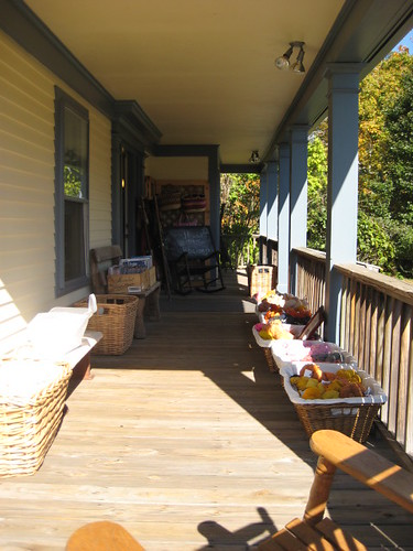 CT Yarn and Wool Porch