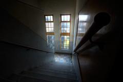 Down ((Erik)) Tags: abandoned urbandecay istockphoto down urbanexploration 1020mm asylum hdr mentalhospital bloemendaal sigma1020mm 10mm 5xp provinciaalziekenhuissantpoort