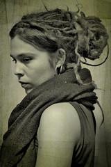 black and white (maruan's travel [a bit away.. vEEEry busy]) Tags: bw pretoebranco dreadlock rastas leonor