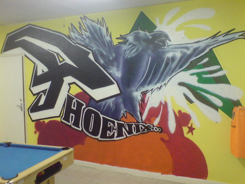 Phoenix Youth Centre mural
