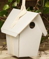 bird house plain