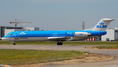 Fokker 100 KLM Cityhopper (KLC) PH-OFN - MSN 11477 - Now in Qeshm Air fleet as EP-FQJ (Luccio.errera) Tags: aviation air 100 msn klm enterprise fleet now fokker qeshm klc cityhopper 11477 bukovyna phofn urckw epfqj