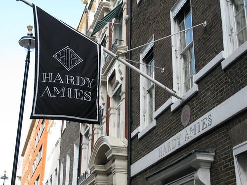 Hardy Amies in Savile Row