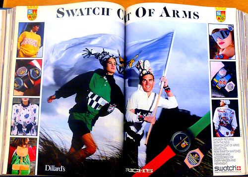 Swatch Coat of Arms August 1986 by LauraMoncur from Flickr