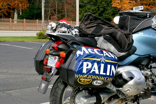 BMW Rider for McCain