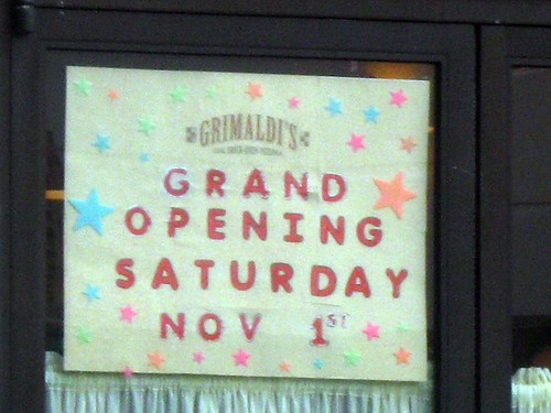 Grimaldi's Douglaston Grand Opening