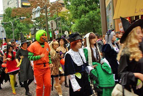 GreenHaired Goku Kawasaki Halloween 2008 07