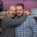 Keith Allen with Chris Moyles