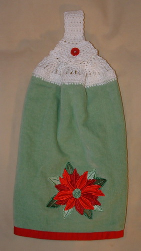 Christmas Towel Topper