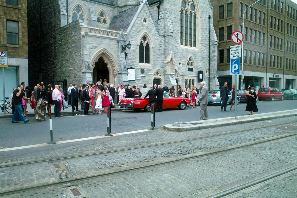A Wedding In The Unitarian Church
