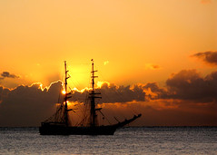 Tall ship (Paul Raymond Photography) Tags: ocean sunset sea water canon germany coast seaside cornwall raw ship tourists german coastline tallship southcoast habour portleven g9 paulabarrow paulraymondphotography paulraymondphotographyyahoocouk wwwpaulraymondphotographycouk wwwytfcpicturescom