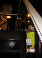 Release voor week 17 van de Ouwe gnoepers (bookcrossing monopoly) Tags: night book utrecht domtoren bookcrossing dom monopoly staircase 2008 oudegracht ouwegnoepers