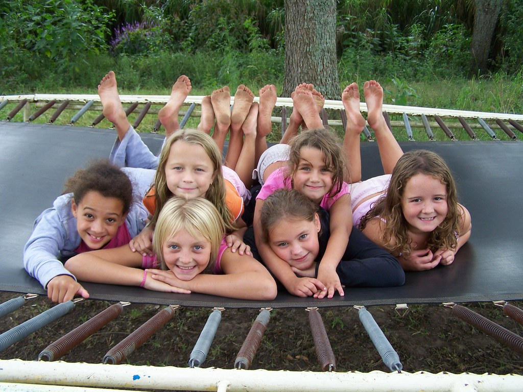 e314949777 a happy bunch (scott.cron) Tags  girls camp outdoors smiles happykids