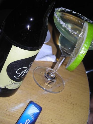cerveza & marguerita