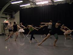 Rehearsals for Scottish Ballet's Sleeping Beauty 20082009