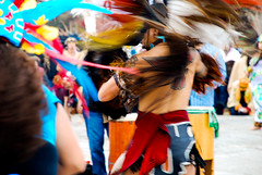 survival of the fittest (ma vie en rouge) Tags: sanfrancisco california thanksgiving tattoo dance movement feathers nativeamerican bayarea alcatraz myfavorites drumcircle indigenous headdress indiancostume aztecdance azteccostume aztectattoo indigenouspeoplessunrisegathering