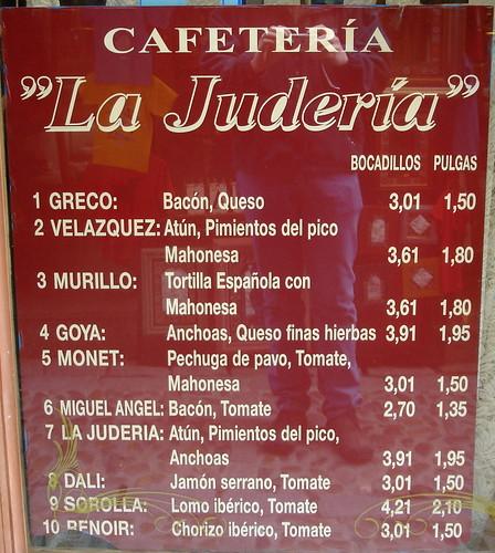 Cafeteria La Juderia