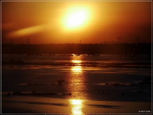 Sunset at Thoraipakkam - Chennai