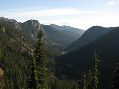 Toward Alpental and I-90