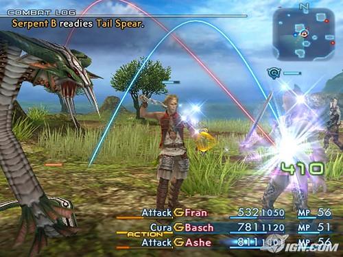 Serpent B readies Tail Spear