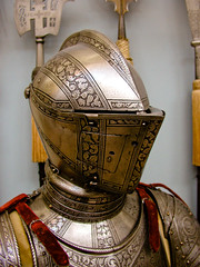 BM199 Ceremonial Plate Armor (listentoreason) Tags: newyorkcity usa newyork metal museum america unitedstates steel military helmet favorites places olympus armor weapon material armour metropolitanmuseum themet helm metropolitanmuseumofart polearm bodyarmor platemail closecombat score35 platearmour armsarmor olympusc4040z c4040z groundforces closecombatweapon poleweapon