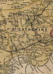 St. Catherine (National Library of Jamaica) Tags: jamaica stcatherine parishes mapofjamaica