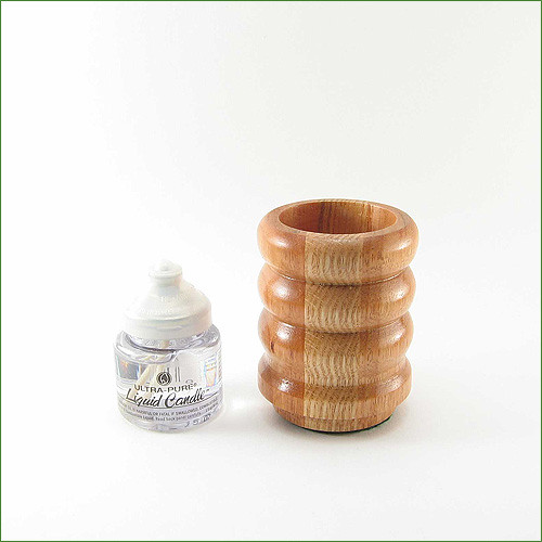 Lyptus & Oak Liquid Candle Holder