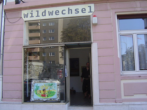 Kunstraum Wildwechsel in der Rotlintstrasse. September 2004
