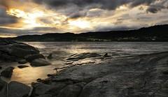 Snsavannet - Seascape (Aasprong Photography) Tags: longexposure sunset seascape canon eos snsa nordtrndelag trndelag 400d canoneos400d snsavannet runeaasp runea aasprongphotography
