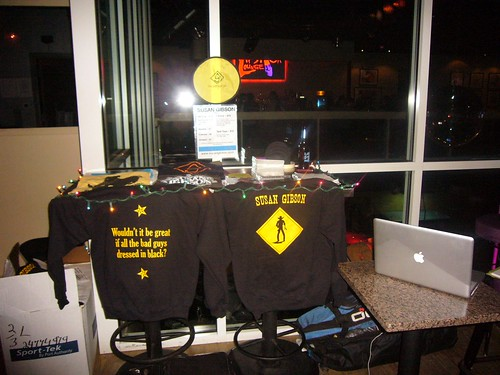 Merch in Dallas - hoodies!