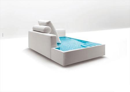 Yüzme Havuzu Kanepe