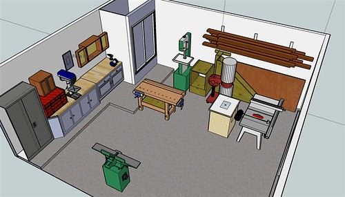 Garage Workshop Plan